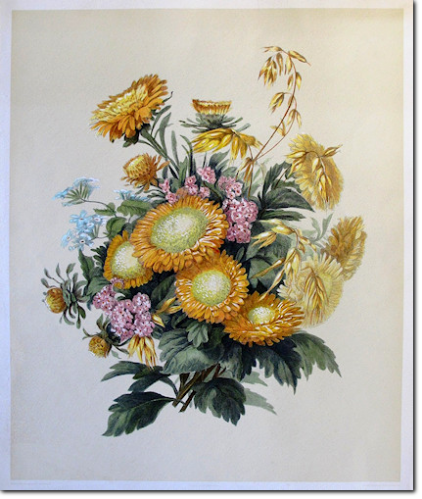 GIRARDIN. Grand Bouquet. 1850 ca.
